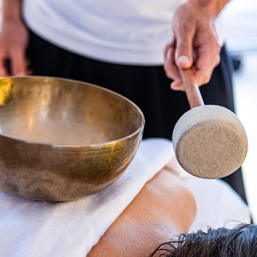 Klankschalen Massage